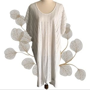 COUNTRY ROAD Broderie Anglaise Lace Tunic Dress
